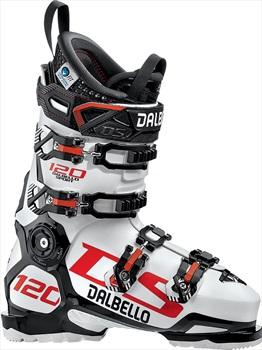 Dalbello DS 120 Ski Boots, 26.5 White/Black/Orange 2020