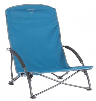 Vango Dune Camp Chair Low-Seat Camping Chair, Mykonos Blue