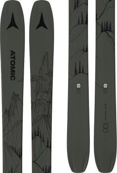 Atomic Bent Chetler 100 Skis 172cm, Green/Black, Ski Only, 2021