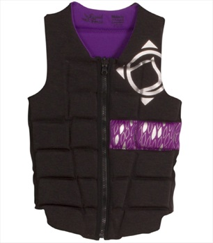 Liquid Force Melody Ladies Wakeboard Impact Vest, XS Bl Purple
