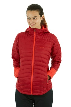 Marmot Womens Electra Women's Insulated Jacket, UK 14 Sienna Red