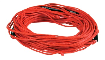 Straight Line Dyneema Wakeboard Line, 65', Red