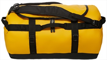 The North Face Base Camp Small Duffel Travel Bag, 50L Summit Gold