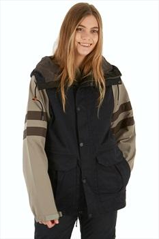 thirtytwo Desiree Women's Snowboard/Ski Jacket, M Black