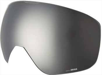 Melon Jackson Ski/Snowboard Goggle Lens, One Size Silver Chrome Sonar