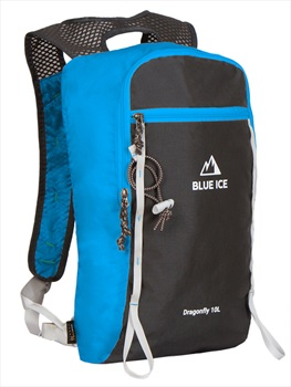 Blue Ice Dragonfly Alpine Climbing Backpack, 10L Blue/Black