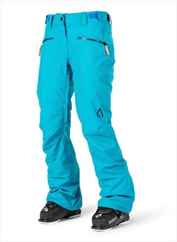 Wearcolour Cork Women's Ski/Snowboard Pants, S Enamel Blue
