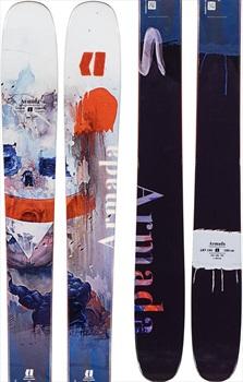 Armada Adult Unisex ARV 106 Ski Only Skis, 180cm Black/Orange 2020