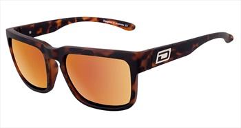 Dirty Dog Spectal Brown/Gold Polarized Sunglasses, Satin Tort Frame