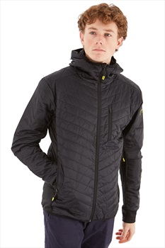 Mons Royale Arete Insulation Hood Midlayer/Jacket M Black