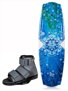 Liquid Force Trip | Connect Boat Wakeboard Package, 130 | UK 3-7 Blue