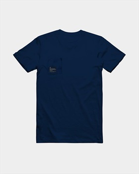 Follow S.P.R. Cotton T Shirt, Large Blue 2019