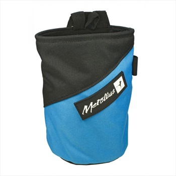 Metolius Competition Rock Climbing Chalk Bag, Blue/Black