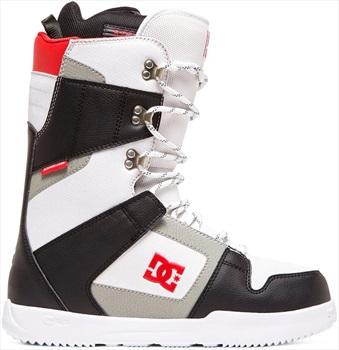 DC Phase Lace Snowboard Boots, UK 12 Black/White 2020