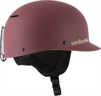 Sandbox Classic 2.0 Snow Ski/Snowboard Helmet, L Burgundy Floral
