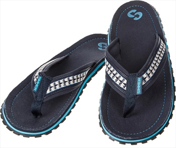 Sinner Beach Slaps IIII Men's Flip Flops, UK 9 / EU 43 Blue/White
