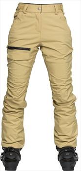 Wearcolour Slant Ski/Snowboard Pants, L Sand