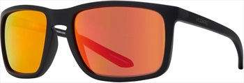 Dragon Melee Ion Orange Ion Lens Sunglasses, Matt Black