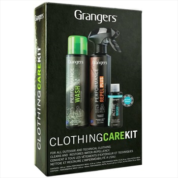 Grangers Clothing Care Kit Active Wear Cleaner/Waterproofer, OS