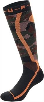 Picture Adult Unisex Wooling Snowboard & Ski Socks, L Black Camo