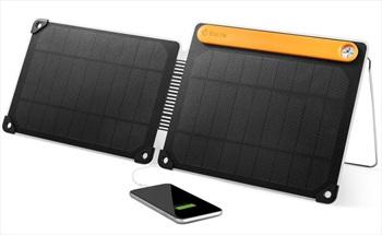 BioLite SolarPanel 10+ Portable Solar Device Charger, 10W Black
