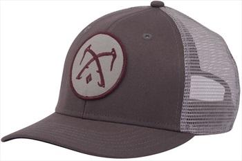 Black Diamond BD Trucker Hat Baseball Cap, OS Slate/Nickel