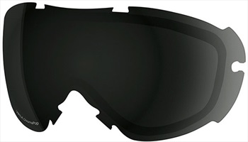 Smith Virtue Snowboard/Ski Goggle Spare Lens, Chromapop Sun Black