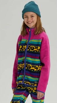 Burton Kid's Spark Full-Zip Fleece, M Leocat/Fuchsi