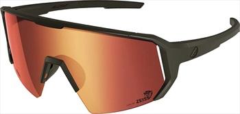 Melon Adult Unisex Alleycat Red Chrome Performace Sunglasses, M/L Black