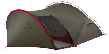 MSR Hubba Tour 3 Backpacking Tent, 3 Man Green