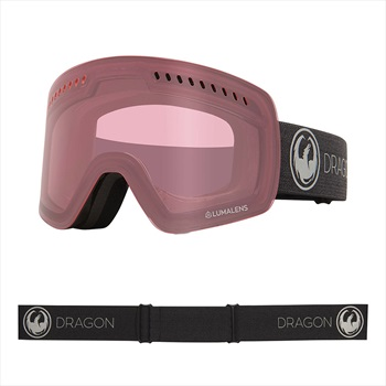 Dragon NFXs Photochromic Light Rose Snowboard/Ski Goggles, M Echo