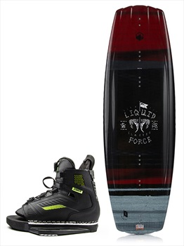 Liquid Force Classic | Unit Wakeboard Package, 138| 2.5-5.5 Blck 2019