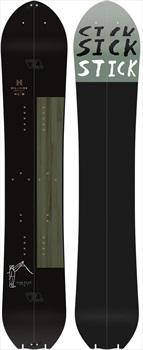 Salomon Sick Stick Hybrid Camber Split Snowboard 162cm Black/Grey 2020