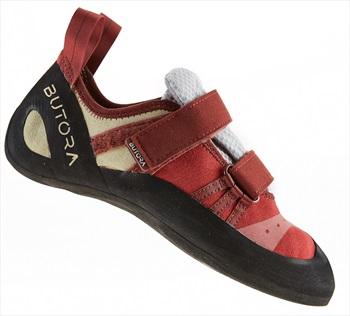 Butora Womens Endeavor Rock Climbing Shoe: UK 7.5 | EU 41.5, Crimson