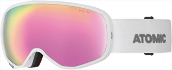 Atomic Count S HD Women's Snowboard/Ski Goggles, S White