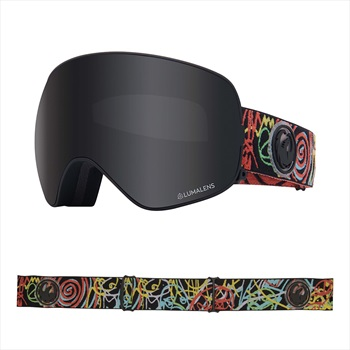Dragon LumaLens Dark Smoke Snowboard/Ski Goggles, M Gigi Ruf Signature