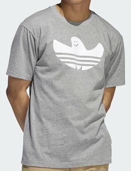Adidas Shmoo Short Sleeve T-Shirt M Core Heather / White