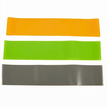 Phoenix Fitness Circle Resistance Band Kit, Orange/Grey/Green
