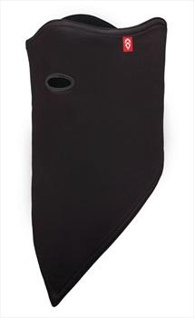 Airhole Standard 2 Layer Snowboard/Ski Face Mask, M/L Black 2020