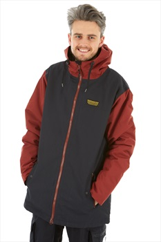 Airblaster Toaster Ski/Snowboard Jacket, L Oxblood