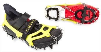Grivel Ran Anti-Slip Snow & Ice Shoe Spikes, M Yellow