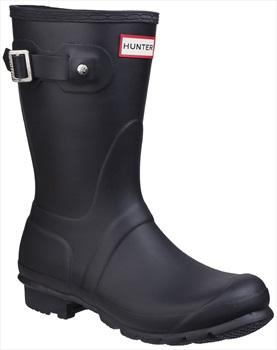 Hunter Womens Original Short Wellington Boot, UK 8 Black