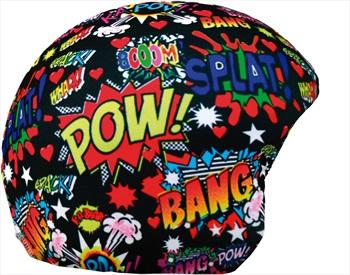 Coolcasc Printed Cool Ski/Snowboard Helmet Cover, Boom