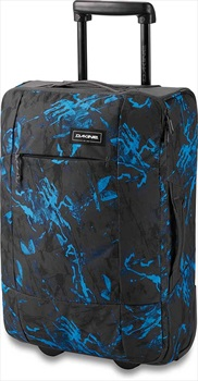 Dakine Carry On EQ Roller Wheeled Bag/Suitcase, 40L Cyan Scribble