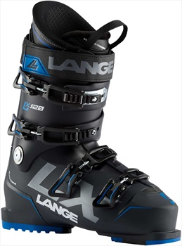 Lange LX 120 Ski Boots, 27/27.5 Black/Blue 2020