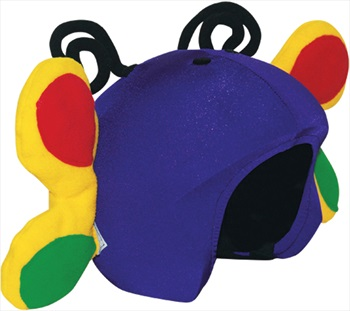 Coolcasc Animals Ski/Snowboard Helmet Cover, One Size, Butterfly