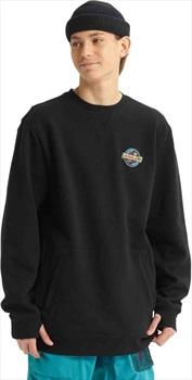 Analog Enclave Crew Ski/Snowboard Sweatshirt, XS True Black