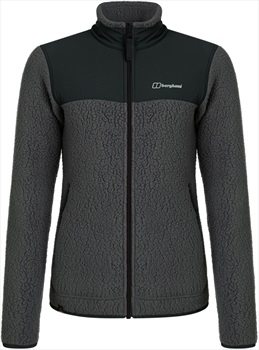 Berghaus Tahu Full-Zip Women's Thermal Fleece Jacket, XS Grey