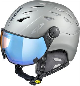 CP Cuma Cashmere Snowboard/Ski Visor Helmet, M Powder Grey