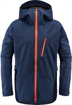 Haglofs Niva Ski/Snowboard Shell Jacket, S Tarn Blue
